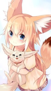 Rating: Safe Score: 92 Tags: animal_ears dress kitsune sukemyon tail User: nphuongsun93