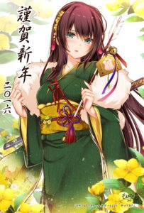 Rating: Safe Score: 60 Tags: flower_knight_girl kimono monety sword User: fairyren