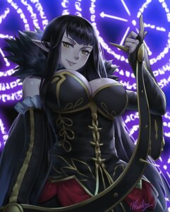 Rating: Safe Score: 29 Tags: assassin_of_red_(fate/apocrypha) cleavage dress fate/apocrypha fate/stay_night natsuyu pointy_ears signed User: 川俣慎一郎