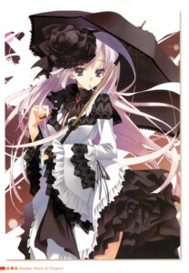 Rating: Questionable Score: 27 Tags: bra dress gothic_lolita kagome lolita_fashion smoking User: syk111