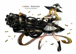 Rating: Safe Score: 31 Tags: gia gun kirisame_marisa touhou witch User: SciFi