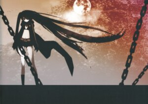 Rating: Safe Score: 19 Tags: black_rock_shooter black_rock_shooter_(character) huke vocaloid User: Radioactive