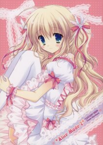 Rating: Safe Score: 57 Tags: dress hasekura_chiaki lolita_fashion thighhighs User: mimikku