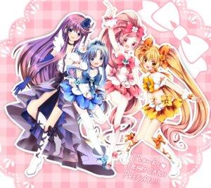 Rating: Safe Score: 15 Tags: hanasaki_tsubomi heartcatch_pretty_cure! kurumi_erika myoudouin_itsuki pretty_cure tsukikage_yuri uzuki_aki User: Radioactive