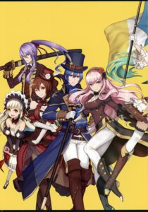 Rating: Safe Score: 7 Tags: 2d cleavage dress heels stitchme sword tagme thighhighs vocaloid User: kiyoe