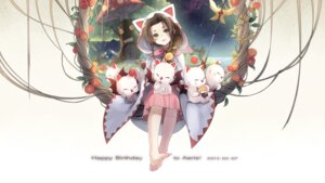 Rating: Safe Score: 42 Tags: aerith_gainsborough final_fantasy final_fantasy_vii kieta moogle User: Radioactive