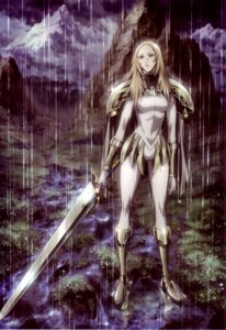 Rating: Safe Score: 20 Tags: armor bodysuit claymore miria sword User: Radioactive