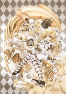 Rating: Safe Score: 36 Tags: animal_ears heels maid pantyhose ramiya_ryou tail User: Twinsenzw