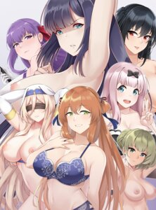Rating: Questionable Score: 34 Tags: aslindsamure azur_lane bb_(fate/extra_ccc) bra breast_hold cleavage crossover fate/grand_order fujiwara_chika garter_belt girls_frontline goblin_slayer kaguya-sama_wa_kokurasetai_~tensai-tachi_no_renai_zunousen~ naked nipples pantsu springfield_(girls_frontline) sword_maiden tagme taihou_(azur_lane) takagaki_kaede the_idolm@ster the_idolm@ster_cinderella_girls topless User: yanis