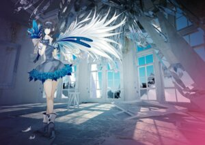Rating: Safe Score: 44 Tags: dress ochakai_shinya wings User: animeprincess