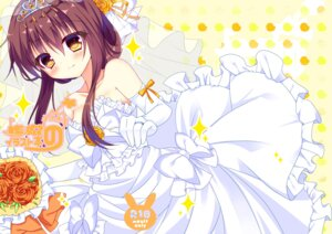 Rating: Safe Score: 9 Tags: dress inazuma_(kancolle) kantai_collection kurata_muto wedding_dress User: Mr_GT
