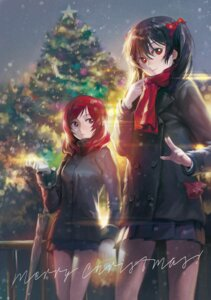 Rating: Safe Score: 32 Tags: christmas love_live! mossi nishikino_maki seifuku yazawa_nico User: Mr_GT