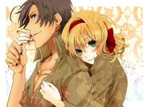 Rating: Safe Score: 11 Tags: belgium hanazawa hetalia_axis_powers south_italy User: Radioactive