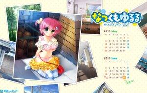 Rating: Questionable Score: 16 Tags: bra calendar mizuna_rine natsukumo_yururu pantsu sasai_saji shimapan shirt_lift sumikko-soft thighhighs wallpaper User: saemonnokami