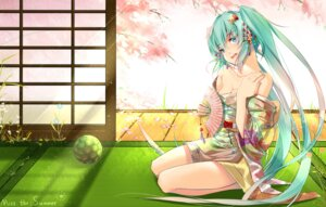 Rating: Safe Score: 47 Tags: cleavage hate_ani_hikae hatsune_miku kimono open_shirt vocaloid User: Mr_GT