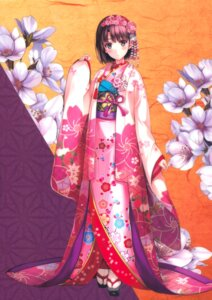 Rating: Safe Score: 216 Tags: fixed katou_megumi kimono misaki_kurehito saenai_heroine_no_sodatekata User: Pekie