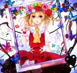 Rating: Safe Score: 25 Tags: blood daimaou_ruaeru dress flandre_scarlet touhou wings User: Mr_GT