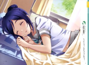 Rating: Safe Score: 25 Tags: inou_shin love_live!_sunshine!! matsuura_kanan seifuku sheets User: drop