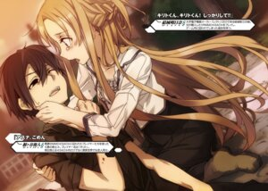 Rating: Safe Score: 10 Tags: abec asuna_(sword_art_online) blood kirito sword_art_online tagme User: kiyoe