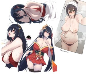 Rating: Explicit Score: 38 Tags: azur_lane breasts censored japanese_clothes nipples no_bra nopan open_shirt pussy pussy_juice sheets skirt_lift tagme taihou_(azur_lane) thighhighs topless User: BattlequeenYume