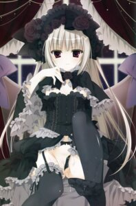 Rating: Questionable Score: 92 Tags: cum dress feet garter_belt gothic_lolita inugami_kira lolita_fashion nopan overfiltered pussy stockings thighhighs User: wlx533633733