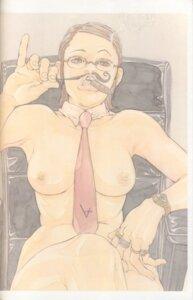 Rating: Questionable Score: 4 Tags: megane naked nipples tajima_shouu User: Umbigo