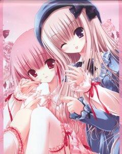 Rating: Safe Score: 13 Tags: bloomers crease hiiragi_miu lolita_fashion meari tinkle tsukiyo_no_fromage yuri User: Radioactive