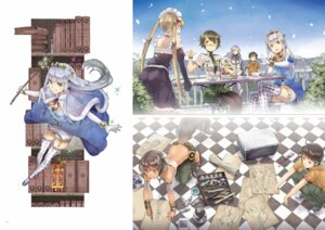 Rating: Safe Score: 25 Tags: animal_ears digital_version dress elbia_hanaiman galious_en_koldobar kanou_shinichi koganuma_minori maid megane myuseru_foaran outbreak_company pantyhose petralka_anne_eldant_iii tail thighhighs uniform weapon yuugen User: Twinsenzw