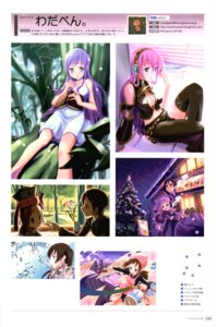 Rating: Questionable Score: 8 Tags: megurine_luka vocaloid wadapen User: Radioactive