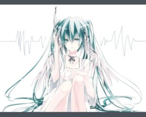 Rating: Safe Score: 13 Tags: dress hatsune_miku headphones laruha vocaloid User: Radioactive