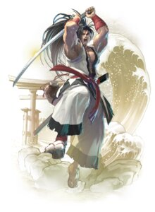 Rating: Questionable Score: 4 Tags: haohmaru japanese_clothes male soul_calibur soul_calibur_vi sword User: Yokaiou