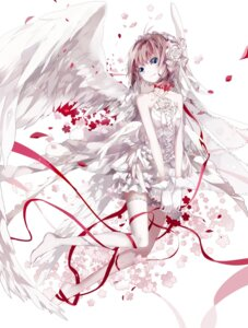 Rating: Safe Score: 48 Tags: amatsukiryoyu card_captor_sakura dress kinomoto_sakura thighhighs wings User: KazukiNanako