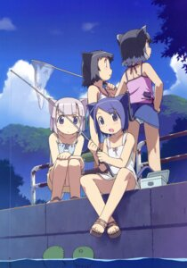 Rating: Safe Score: 33 Tags: animal_ears dress kanzaki_hiro nekomimi pantsu summer_dress tail User: Anonymous
