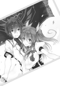 Rating: Safe Score: 9 Tags: monochrome rakudai_kishi_no_cavalry seifuku stella_vermillion won_(az_hybrid) User: kiyoe