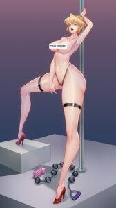 Rating: Explicit Score: 11 Tags: agent_aika aika_(series) censored dark_night_(darkotl) garter heels pantsu pussy see_through sumeragi_aika thighhighs topless User: ascendinga73a