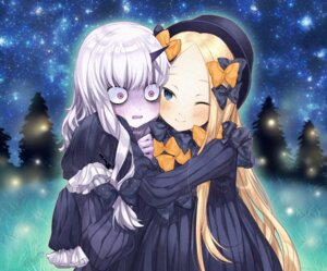 Rating: Safe Score: 6 Tags: abigail_williams_(fate/grand_order) dress fate/grand_order horns lavinia_whateley_(fate/grand_order) yukihara_nako yuri User: Mr_GT