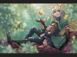 Rating: Safe Score: 23 Tags: animal_ears archer_of_red fate/apocrypha fate/stay_night heels nekomimi shiina_(artist) stockings tail thighhighs User: charunetra