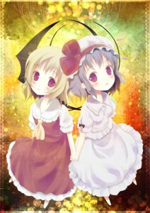 Rating: Safe Score: 20 Tags: flandre_scarlet remilia_scarlet siro touhou User: hobbito