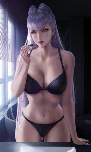 bra cleavage evelynn league of legends pantsu wickellia #90017