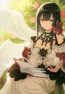 Rating: Safe Score: 35 Tags: dress wings yashiro_seika User: kiyoe