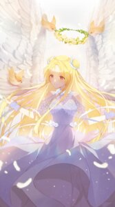 Rating: Safe Score: 19 Tags: 00suger001 angel dress full_moon_wo_sagashite kouyama_mitsuki see_through wings User: Mr_GT