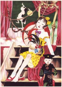 Rating: Safe Score: 7 Tags: dress maruo_suehiro nihonga shoujo_tsubaki tsubaki_midori umbrella User: Anemone