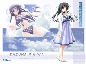 Rating: Safe Score: 25 Tags: migiwa_kazuha sphere suzuhira_hiro swimsuits wallpaper yosuga_no_sora User: myshana