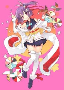 Rating: Safe Score: 23 Tags: heels ito_noizi japanese_clothes tenjin_kotone tenjin_kotone_(character) thighhighs User: saemonnokami