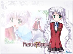 Rating: Safe Score: 10 Tags: bekkankou fortune_arterial seifuku tougi_shiro wallpaper User: admin2