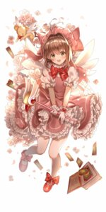 Rating: Safe Score: 25 Tags: card_captor_sakura dress kerberos kinomoto_sakura lium weapon wings User: Mr_GT
