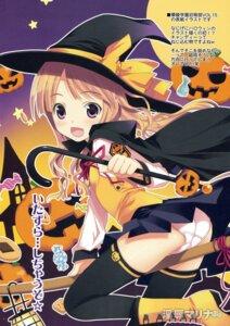 Rating: Questionable Score: 35 Tags: halloween pantsu thighhighs witch yan-yam User: syaoran-kun