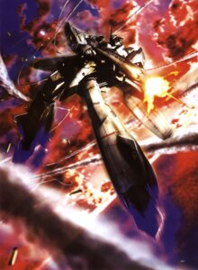 Rating: Safe Score: 6 Tags: macross macross_zero mecha morishita_naochika vf_valkyrie User: Radioactive