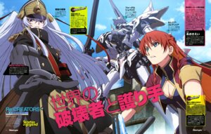 Rating: Safe Score: 15 Tags: altair_(re:creators) cleavage mecha re:creators selestia_yupitiria suzuki_isamu uniform User: drop