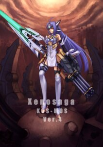 Rating: Safe Score: 14 Tags: corvus_corax kos-mos thighhighs xenosaga User: Radioactive